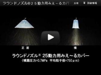 ラウンドノズル®25 動力用みえ~るカバー
